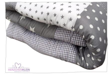 Crawling blanket – grey