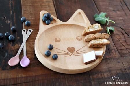 Jausenbrett aus Holz -Mimi