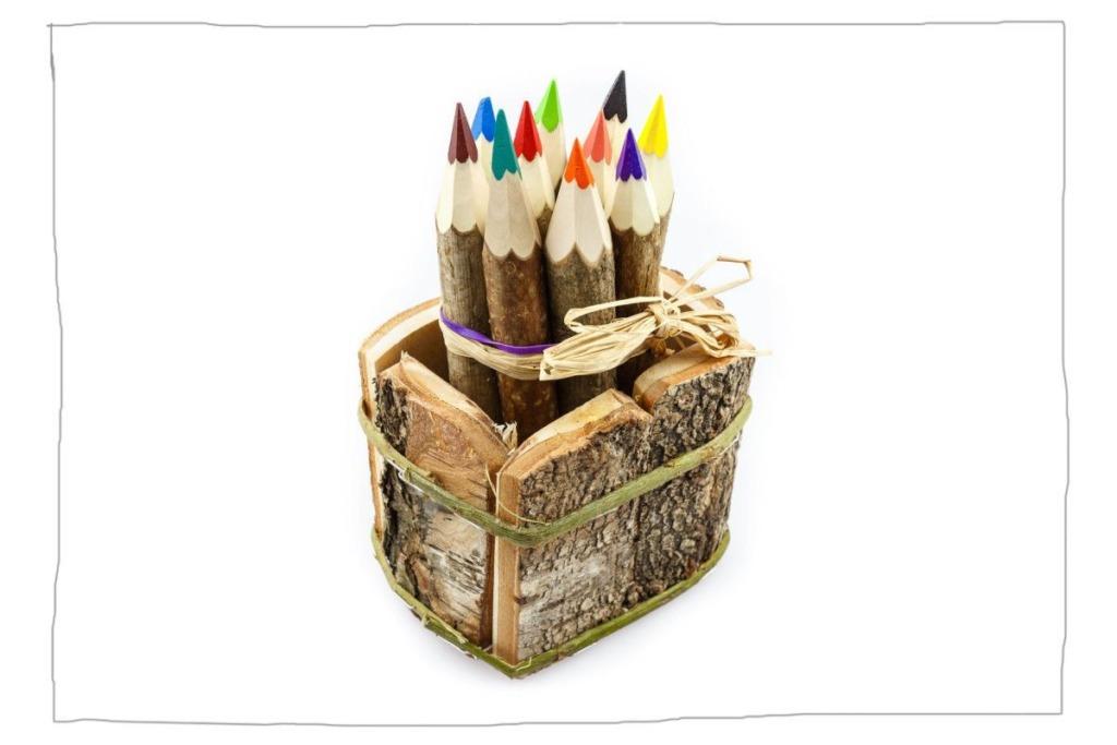 Holz Buntstifte