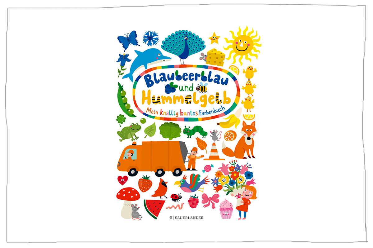 Blaubeerblau und Hummelgelb Mein knallig buntes Farbenbuch ...