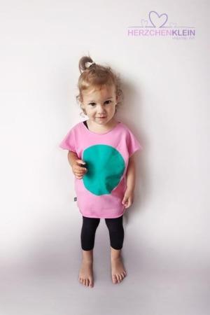 Fluoreszierendes T-Shirt – pink