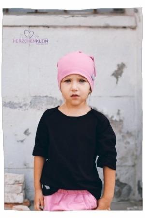 Oversize Shirt – schwarz