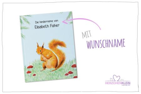 Personalisiertes Kinderbuch mit Wunschname