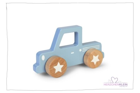 Little Dutch wood pickup light blue
