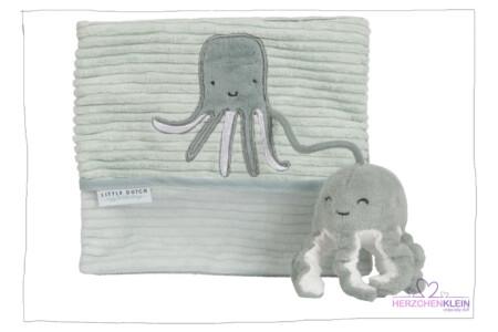 Baby Activity Fühlbuch Ocean mint