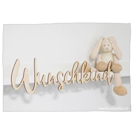 Holzschild mit Wunschname