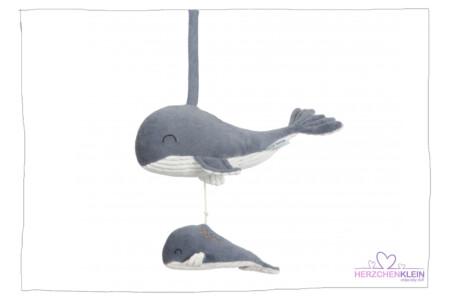 Little Dutch Spieluhr Wal Ocean Blue