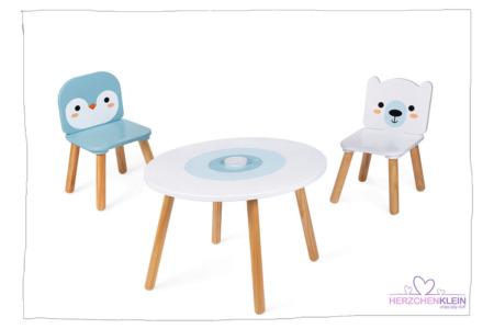 """Tisch- und Sesselset """"ARKTIS"""" 3-TEILIG"""