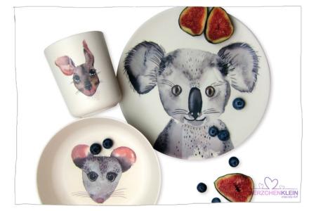 BAMBUS SET Koala & Freunde