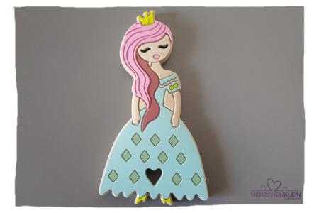 Baby Silikon Beissring Prinzessin