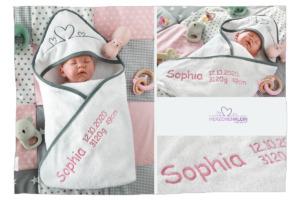 Personalisiertes Babyhandtuch
