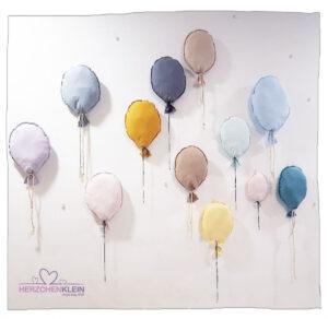 Wandballons mit Wunschname