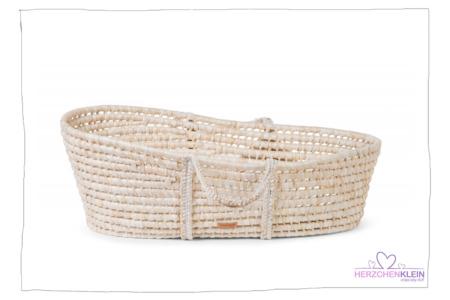 Moseskörbchen – Natural mit Matratze