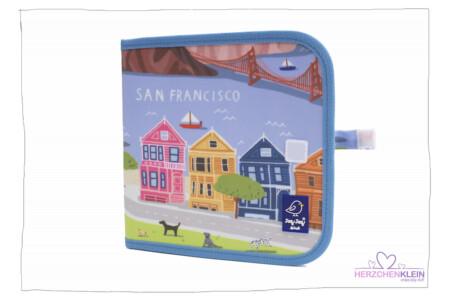 """Jaq Jaq Bird Kreidemalbuch """"San Francisco"""""""