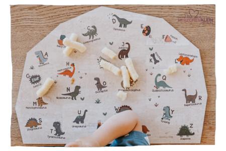 Tischset Dino Letters